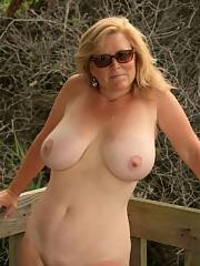 Amazing blonde mature