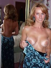 Hot MILF superb tits