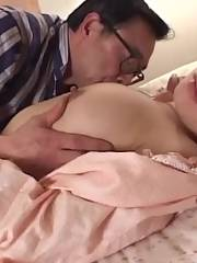 Mature Megumi Aso gets her vagina licked and banged in different poses