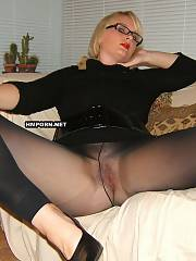 Perfect blond mature