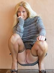 Damn this mature whore is so drilling sexy
