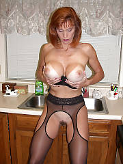 Sweet redhead mature