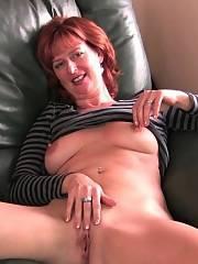 Redheaded mature