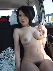 Adorable asian mother