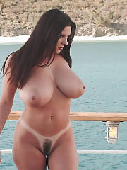Busty unshaved mother