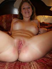 Amazing girlfriend next door cunt pic featuring nice blonde milf