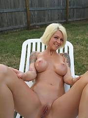 Mature babe with