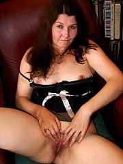 Mom in french maid uniform