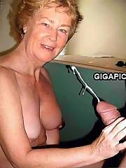 Big mouth Cathy cock sucking Shiny PVC Skirt slut grandmother