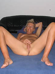 Heres my honey pussy - my german wife spread open her legs for my camera and to submit here for your site