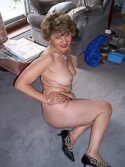 My grandmother playing