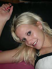 Sexy blonde 20 year