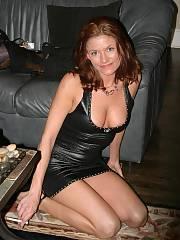 Huge tit mom wearing