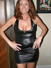 Huge tit mom wearing a latex dress, jesus im gonna be dreaming about these for the rest of my life