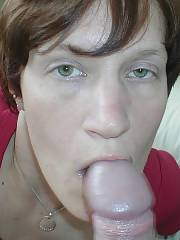 My friends MILF sucking my dick, shes an oral slut and i think her hubby is gay