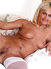 Blondie mature lady