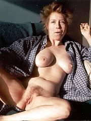 Naked blonde ex