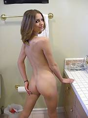 Naughty sweetie babe filming herself.