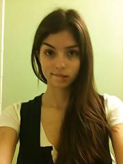 Pretty dark haired