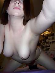 Horny black haired ex girlfriend is craving for a hard massive cock.