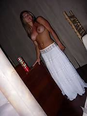 Sweet topless mamma