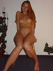 Sexy jerking slut