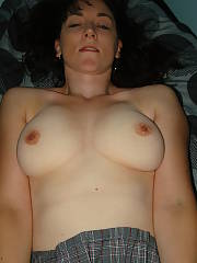 She did this as a dare and swallowed his huge load right in front of me. whos next?