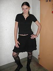 Sexy hottie brunette