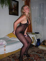 Blonde mature lady