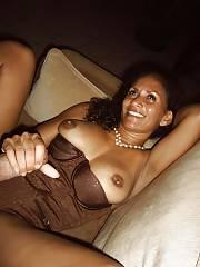 Sexy ebony mother