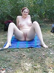 Mom woman with huge