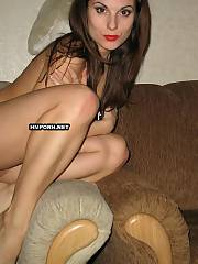 Passionate girl is playing around, She cannot find a place and teasing bf by any possible way exposing hot legs, cute pussy and titties