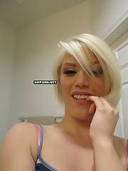 Homemade porn - sweet blonde with so sexual smile.., is making enjoy with her bf and you can see the most exciting shots of her sweet juicy pussy getting drilled hard close-up