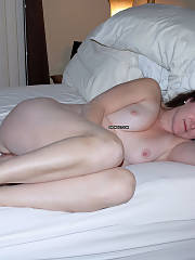 Sexy Brunette Mature Wife In Bed