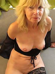 Sylvia combination 2 Amateur Blonde Mature