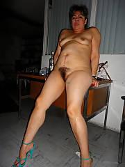 Latin mature slut, real working bitch