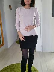 Anna 45 Polish mature wife spreading backside