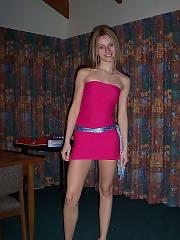 Webslut private  Real eighteen petite teenager Amateur Brunette Teen