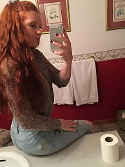 Naked Amateur pics  redhaired teen private porn Amateur Babe Redhead