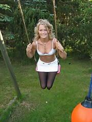 Sexy blonde girlfriend Amateur Closeup Teen