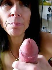 Amature Gail BJ My pecker Again Amateur Blowjob MILF