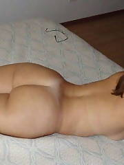 Sexy homemade crown Amateur Brunette Asses