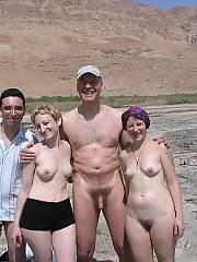 Real amateur swingers on the nudist beach Nude Nudists Swingers Beach